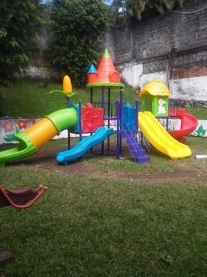 Juegos infantiles para exterior