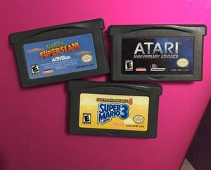 3 videojuegos para gameboy advance