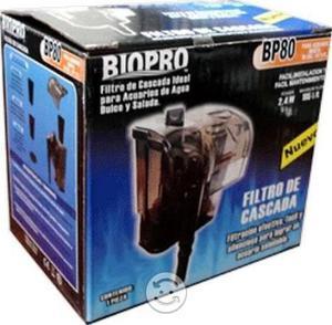 Filtro de cascada para pecera 10 gal. biopro bp80