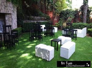 Mobiliario lounge en renta para eventos....