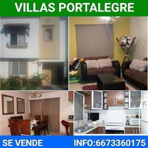 Oportunidad,casa en villa portalegre