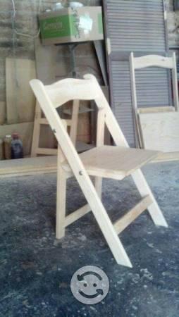 Sillas plegables mayoreo clasf - Pintar sillas de madera ...