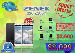 Celular zenek oso oferta!! envio gratis a todo mexico!!!!