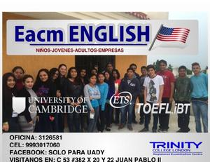 Asesorías y cursos de inglés