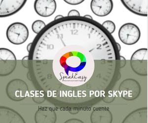 Clases de ingles personalizadas por skype!
