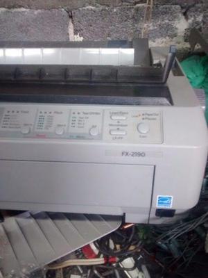 Impresora epson fx 2190