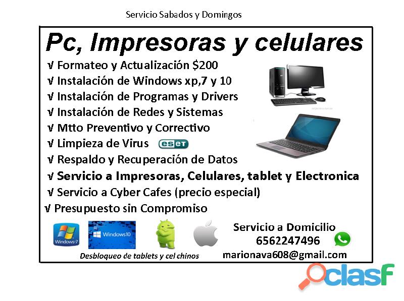 Reparacion De Impresoras Y Computadoras Cd Juarez En Juárez Chihuahua Clasf Computacion