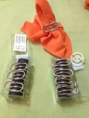 8 anillos para servilletas