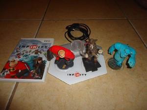 Disney infinity starter pack nintendo wii + juego + portal +