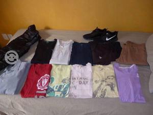 Lote de ropa aero nike adidas