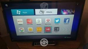 Hisense smart tv 40 pulgadas seminueva todo al 100
