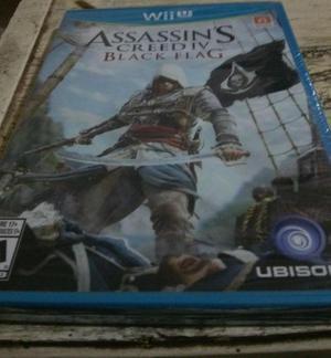 Assassin's creed iv black flag wii u (sellado)