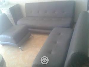 Sala 3 piesas color gris