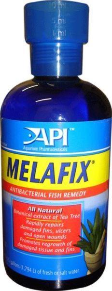 Antibiotico para peces melafix agua dulce 236ml.