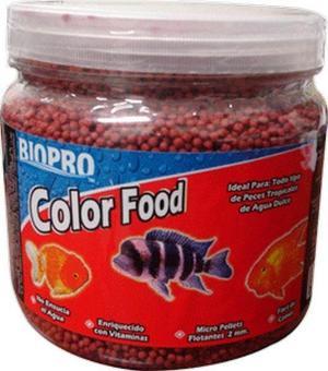 Alimento para peces color food pellets 1litro