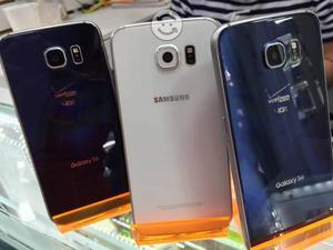 Samsung s6 flat azul,blanco 32gb