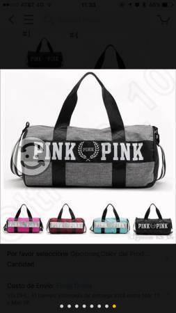 Victorias secret pink maleta gym mochila