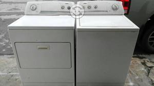 Lavadora y secadora de uso rudo