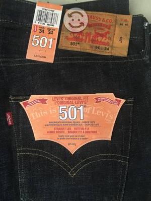 Pantalón levis 501 nuevos