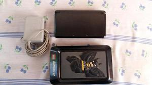 Nintendo 3ds negro con muchos juegos