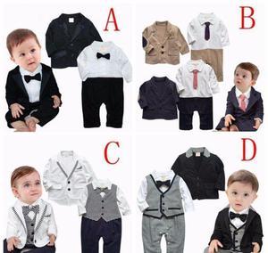 51235e7889826 Traje formal para bebé tipo jumper con saco tallas de 0 a