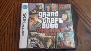 Grand theft auto chinatown wars juego para ds