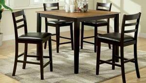 Comedor alto sillas nuevo clasf for Tipos de sillas para comedor