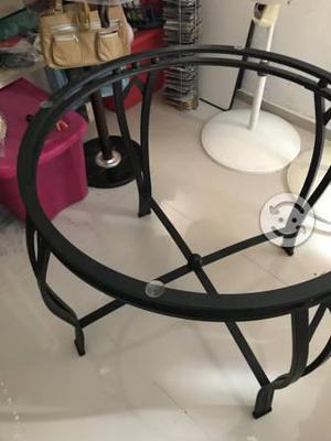 Mesa sillas herreria anuncios agosto clasf for Sillas para jardin de herreria