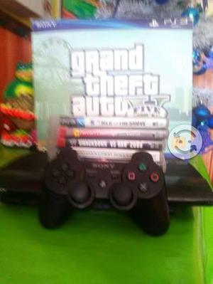 Play station 3 super slim de 250 gb