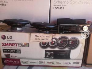 Usado, AUTO ESTEREO LG 4 BOC USB AUX CD NUEVO EN PAQUETE segunda mano  Tlaquepaque (Jalisco)