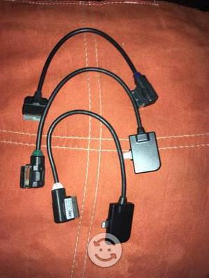 Cables originales de música vw-audi