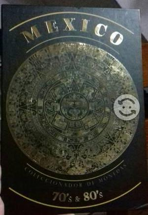 Coleccionador de monedas de mexico 70's & 80's