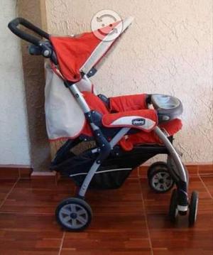 Carriola con porta bebé chicco