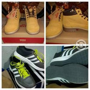 Ojo 2 pares originales nuevos botas levi's y tenis
