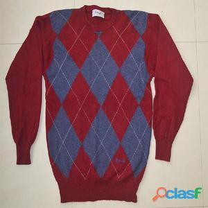 Suéter lana pura para caballero