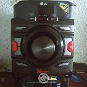 Potente minicomponente lg cm4740