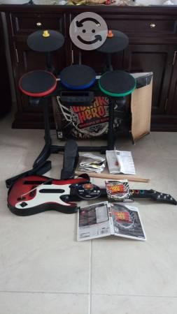 Guitar hero warriors of rock wii nintendo