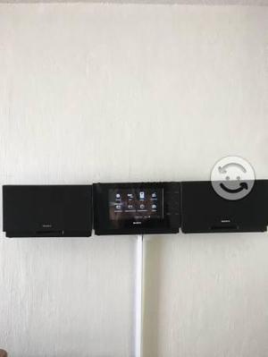 Mini componente de pared marca sony
