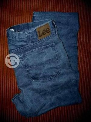 Pantalon hombre lee corte normal talla 36x30