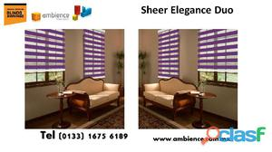Sheer elegance cortinas