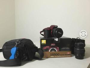 Kit de fotografía cámara nikon d5500