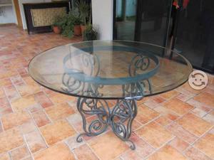 Mesa comedor redonda cristal en Zapopan 【 ANUNCIOS Mayo 】 | Clasf ...