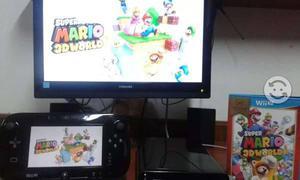 Nintendo wii u deluxe con juegos
