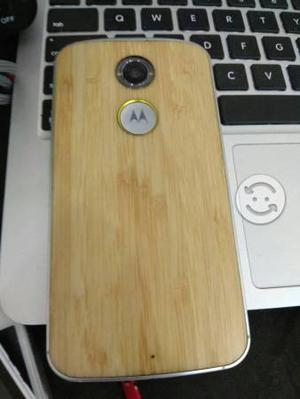 Moto x2 edicion bamboo