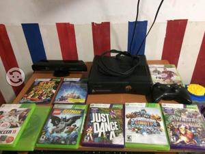 Xbox con kinect, control inalámbrico, 9 juegos