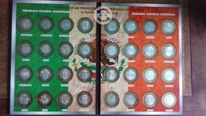 Colección de monedas conmemorativas de $100