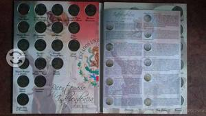 Colección de monedas conmemorativas de $5