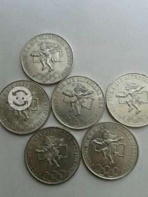 Monedas olímpicas