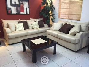 Sala love seat y sofa