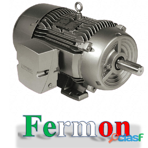 Motor trifasico de 5hp 4p 6.5a, siemens